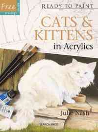 Ready to Paint: Cats & Kittens - Professor Julie Nash (Paperback) - Cover