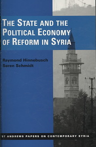 The State and the Political Economy of Reform in Syria - Raymond Hinnebusch (Paperback) - Cover