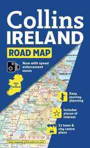 Collins Road Map Ireland - Collins Uk (Paperback) - Cover