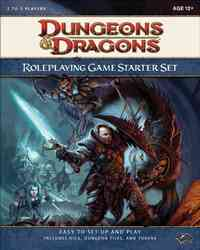 Dungeons & Dragons Roleplaying Game Starter Set - Inc. Wizards of the Coast (Hardcover) - Cover
