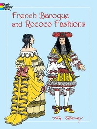 French Baroque and Rococo Fashions - Tom Tierney (Paperback) - Cover