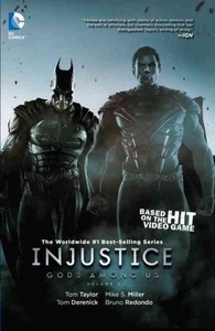 Injustice: Gods Among Us: - Tom Taylor (Hardcover) - Cover