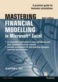 Mastering Financial Modelling In Microsoft Excel 3rd Edn - Alastair L. Day (Paperback) - Cover