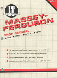 Massey-Ferguson Shop Manual MF-27 (Paperback) - Cover