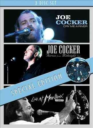 Joe Cocker - Cry Me a River / Across From Midnight Tour / Live (Region 1  DVD)