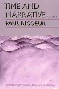 Time and Narrative - Paul Ricoeur (Paperback) - Cover