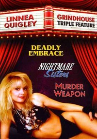 Linnea Quigley: Grindhouse Triple Feature (Region 1 DVD) - Cover