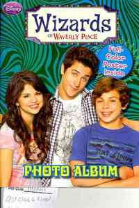 Wizards of Waverly Place Photo Album - Disney (Paperback) - Cover
