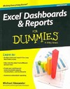 Excel Dashboards and Reports For Dummies - Michael Alexander (Paperback)