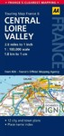 8. Central Loire Valley (Sheet map, folded)