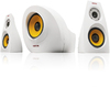 Krator Neso 4 26W 2.1 Channel USB Speaker - Piano White