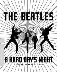 Criterion Collection: a Hard Day's Night (Region A Blu-ray) - Cover