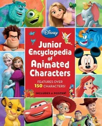 Disney Junior Encyclopedia of Animated Characters - Disney Book Group (School And Library) - Cover