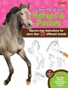 Learn to Draw Horses & Ponies - Robbin Cuddy (Paperback)