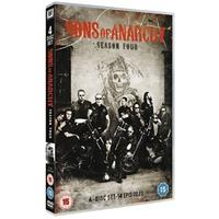 Sons of Anarchy: Complete Season 4 (DVD)