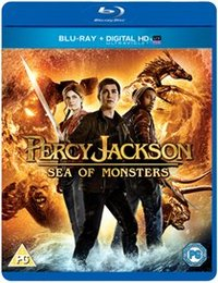 Percy Jackson 2: Sea of Monsters (Blu-ray) - Cover