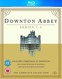 Downton Abbey: Series 1-3/Christmas at Downton Abbey (Blu-ray) - Cover