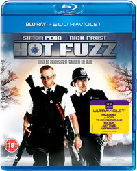 Hot Fuzz (Blu-ray) - Cover