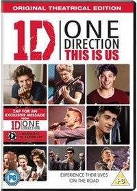 One Direction - This Is Us (DVD) - Cover