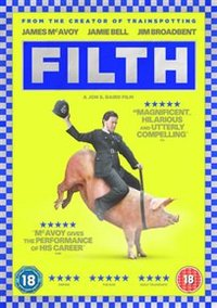Filth (DVD) - Cover
