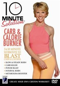10 Minute Solution: Carb and Calorie Burner (DVD) - Cover