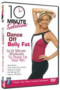 10 Minute Solution: Dance Off Belly Fat (DVD) - Cover