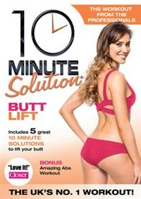 10 Minute Solution: Butt Lift (DVD) - Cover