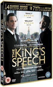 King's Speech (DVD) - Cover
