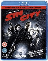 Sin City (Blu-ray) - Cover