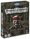 Pirates of the Caribbean - Pirates of the Caribbean 1-4 (Blu-ray) Cover