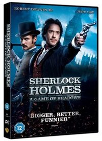 Sherlock Holmes: A Game of Shadows (DVD) - Cover