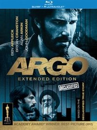 Argo: Declassified Extended Edition (Blu-ray) - Cover