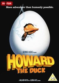 Howard the Duck (DVD) - Cover