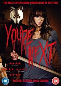 You're Next (DVD) - Cover