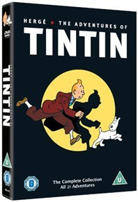 The Adventures of Tintin: Complete Collection (DVD) - Cover