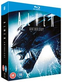 Alien Anthology: UK Edition (Blu-ray) - Cover