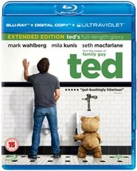 Ted (Blu-ray) - Cover