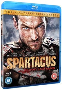 Spartacus - Blood and Sand: Series 1 (Blu-ray) - Cover