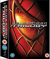 Spider-Man Trilogy (DVD) - Cover