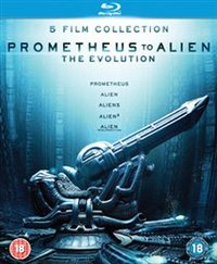 Prometheus to Alien: The Evolution Collection (Blu-ray)