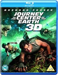 Journey to the Center of the Earth (3D) (Blu-ray) - Cover