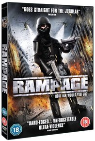 Rampage (DVD) - Cover