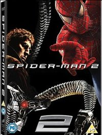 Spider-Man 2 (DVD) - Cover