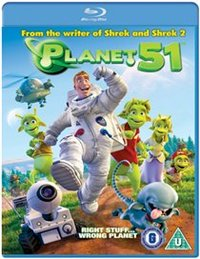 Planet 51 (Blu-ray) - Cover