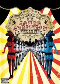Jane's Addiction: Live in NYC (DVD) - Cover
