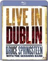 Bruce Springsteen & the Sessions Band - Live In Dublin (Blu-ray) Cover