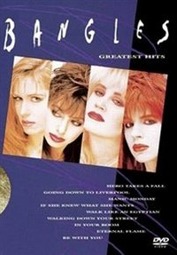 Bangles: Greatest Hits (DVD) - Cover