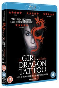 Girl With the Dragon Tattoo (Blu-ray) - Cover