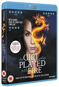 Girl Who Played With Fire (Blu-ray) - Cover