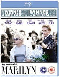 My Week With Marilyn (Blu-ray) - Cover